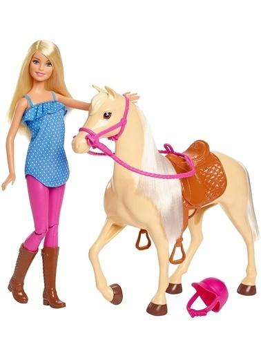 Barbie Barbie Ve Güzel Atı Oyun Seti FXH13 Renkli